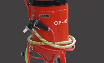 OP-03 Mobilna peskara